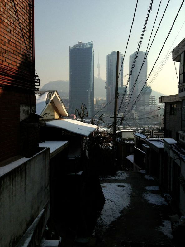 First Glimpse of Seoul