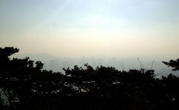 Seoul's Hazy Skyline