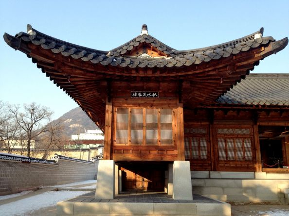 A building in Gyeongbokgung