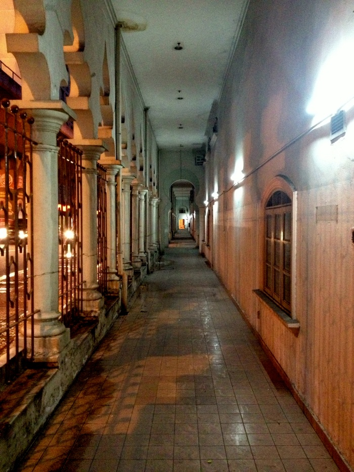 Passageways at Night