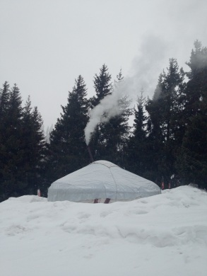 The Yurt at Jalpak Tash