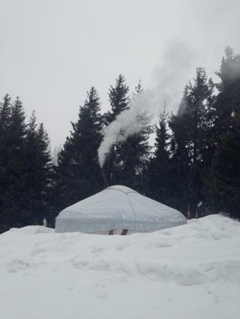 The Yurt at Jalpak Tash
