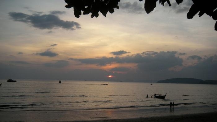 Sunset From Ao Nang