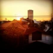 Sunrise over Bangkok