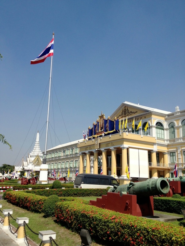 Royal Palace or House of Parliament. Hard to say