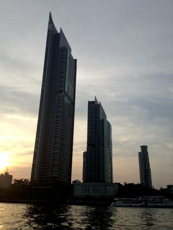 Last shot of Bangkok from the River Taxi