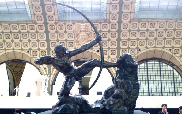 Archer in the main gallery