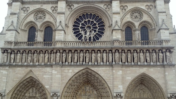 The Notre Dame, all clean and scaffolding-free