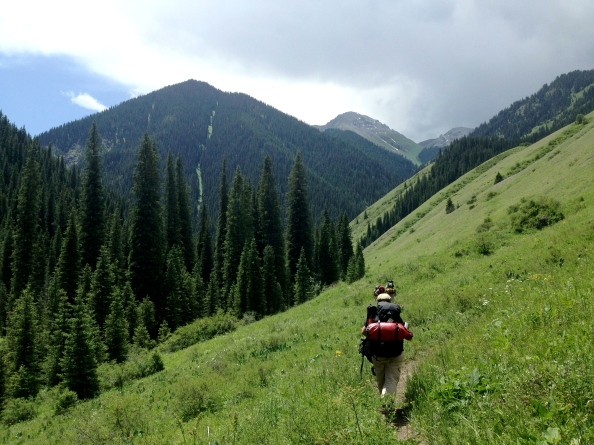 Hiking to Lake 2