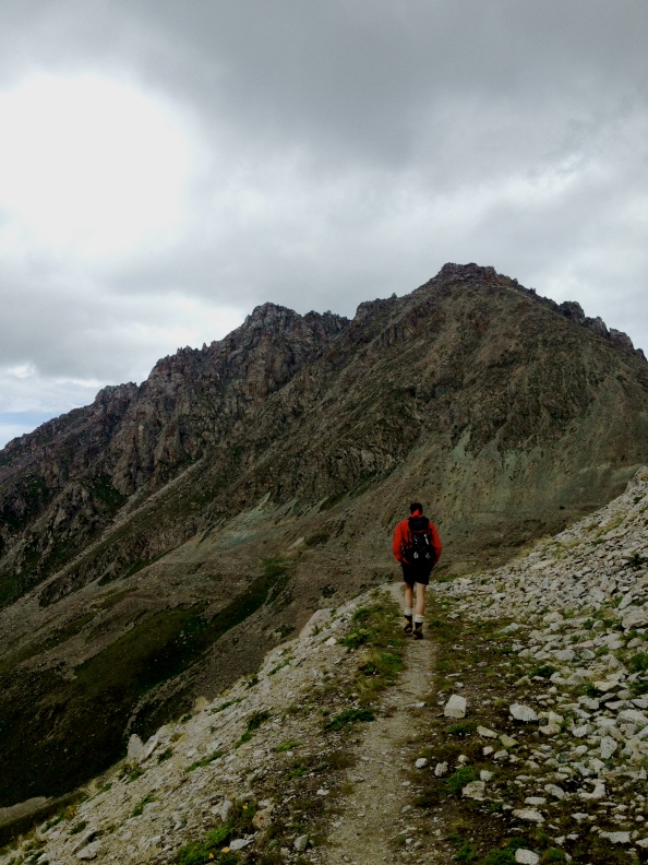 Up to Big Almaty Peak