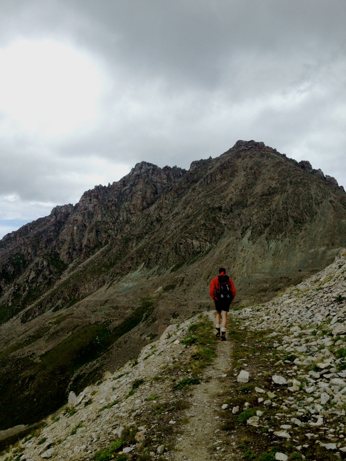 Up to Big Almaty Peak