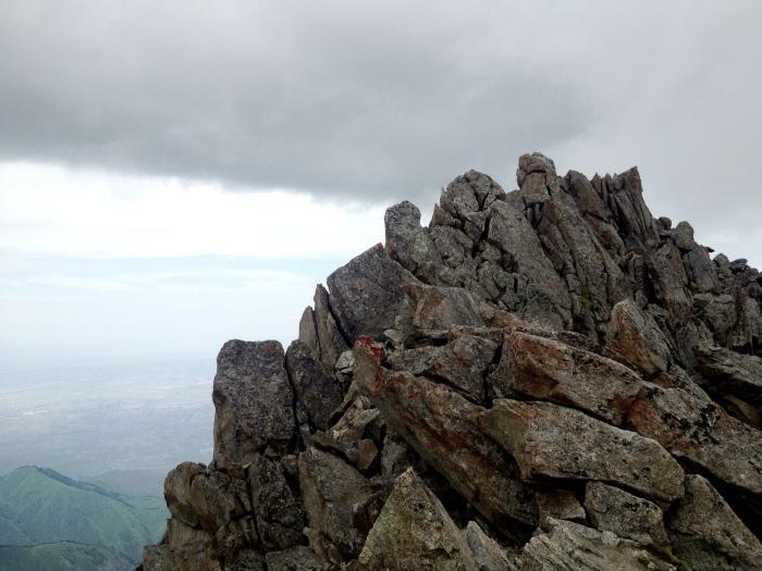 Big Almaty Peak Summit Block