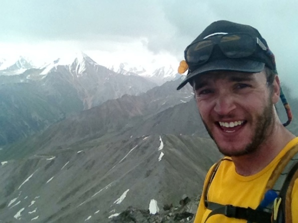 Big Almaty Peak Summit Selfie