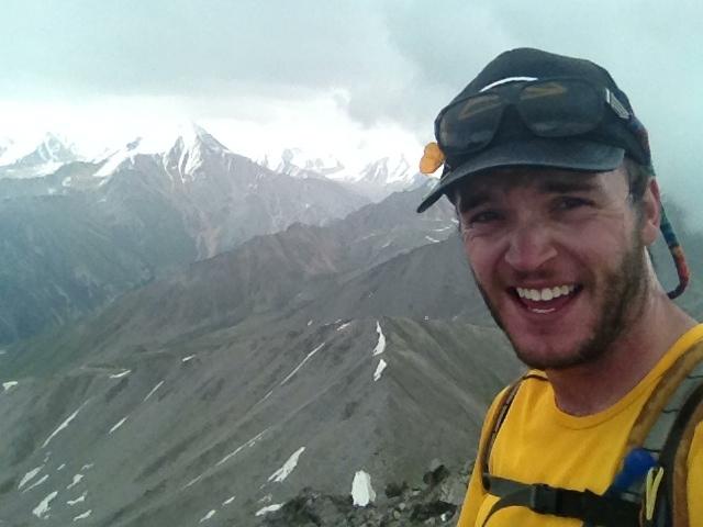 Big Almaty Peak Summit Selfie