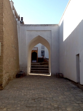 Portal to the Reception and Coronation Court of the Ark