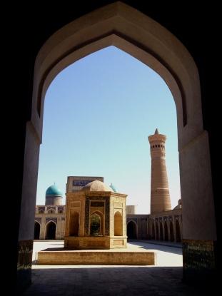 Inside the Kalon Mosque