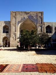 Inside the Abdul Aziz Khan Medressa, now a bazaar