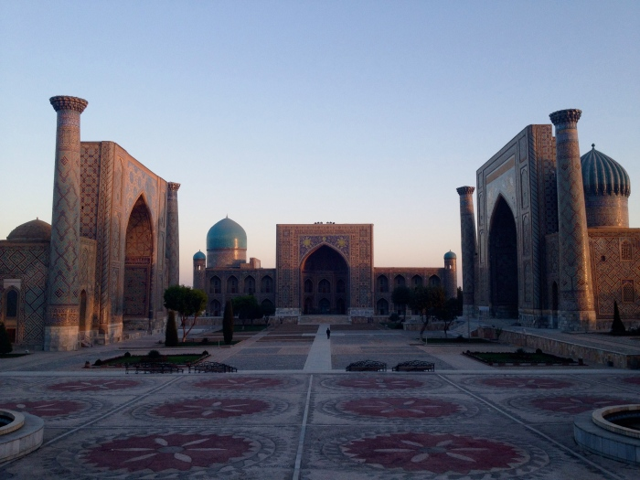 Sunrise at the Registan