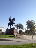 Statue of Timur in the Timur Square