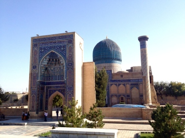 Gur-E-Amir Mausoleum, the final resting place of Timur and his grandson Ulugbek