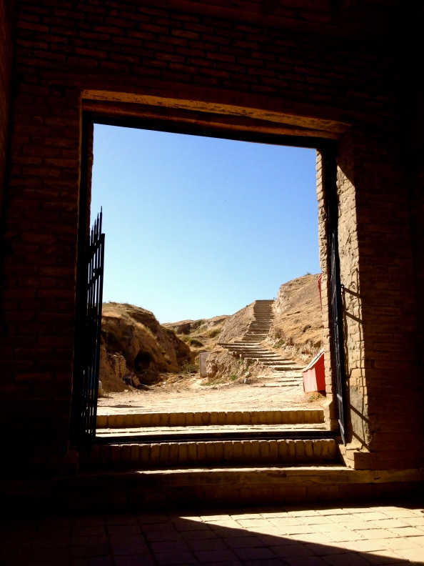 Doorway between Afrosiab and the Tomb of the Prophet Daniel