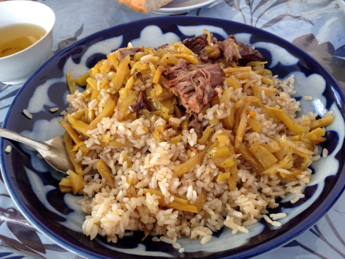 Samarkand Plov in the Siob Bazaar