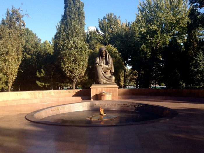 Crying Mother Monument