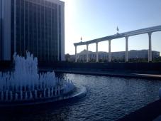 Fountains near Mustaqillik maydoni