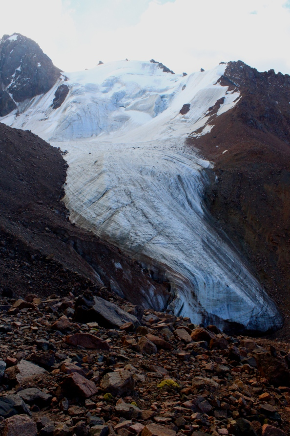 The Glacier at Alpengrad. This has been the inspiration for countless Kazakh artists, based on a visit to the National Art Museum last autumn