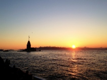 Sunset at Üsküdar