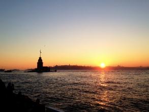 Sunset at Üsküdar