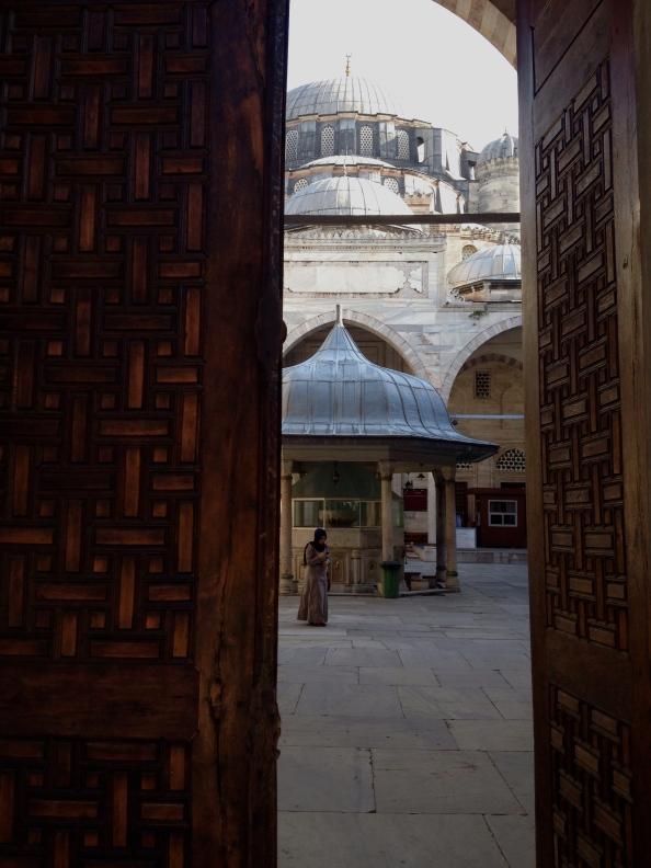 Entrance to Sehzadebasi Mosque