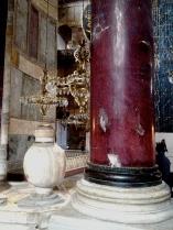 Column and Samovar in the Hagia Sophia