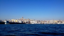 Looking at Galata from Üsküdar