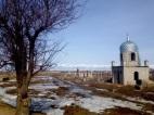 Islamic Cemetery along the Karakol-Suu
