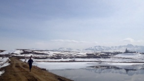 Abram and one of the first reservoirs we negotiated