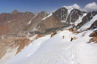 Traversing the Snowridge down
