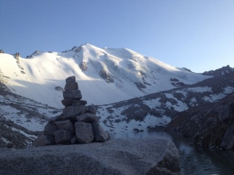 The Mountain and a Cairn