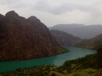 The Blue Waters of the Naryn River are hypnotically pleasing