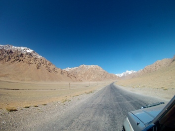 Lunaresque Landscape on the high plateau of Eastern Tajikistan