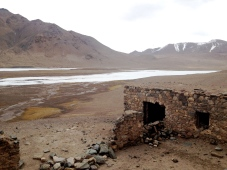 19th Century Russian military post, the highest permanent settlement for a while along the Pamir Highway