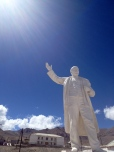 Lenin in Murghab