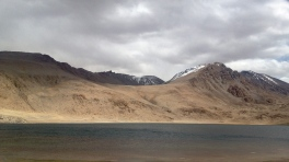 Chokur-Kul, another high-alpine salt lake on the way to Langar