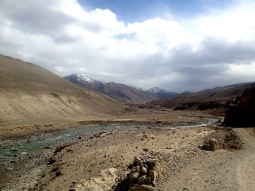 The Afhani Pamir and the Pamir river