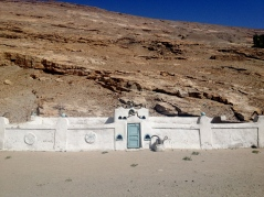An Ismaili Oston, or shrine, just outside of Zong