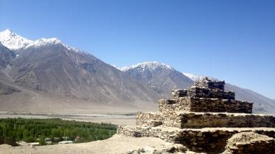 Buddhist Stupa in Vrang, Tajikistan