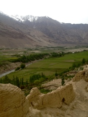 Kaakha Fortress, with more Afghanistan mountains beyond