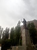 Statue in Khorog