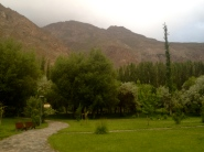 Central Park of Khorog, a very beautiful place