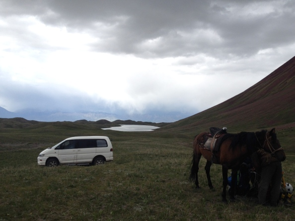 Standard Kyrgyz Transportation Exchange in the Pamir Foothills
